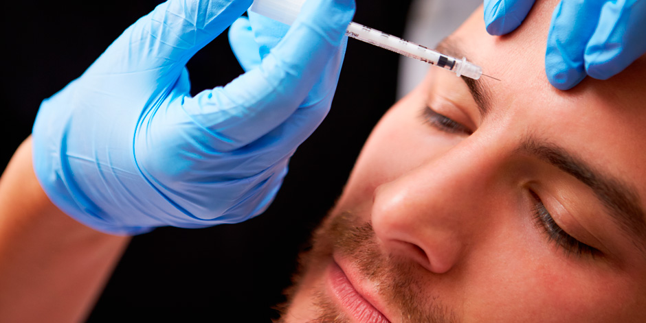 Botox and men